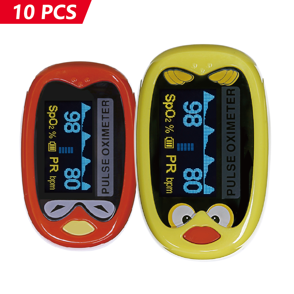 Yongrow Wholes 10Pcs/Lot Infant Fingertip Pulse Oximeter With 1-12 Years Old Kids Neonatal Infant Pulse Oximeter yongrow fingertip pulse oximeter