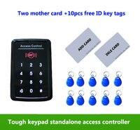 Standalone Access Control ,125KHz ID/EM RFID Touch Screen Keypad ,1000 Users ,2pcs mother card,10pcs free em keb tags,min:1pcs
