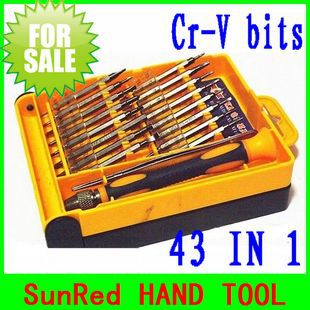 wholesale professional screwdriver set electric power tool 36 in 1 for mobile dvd TV computer maintain,NO.749