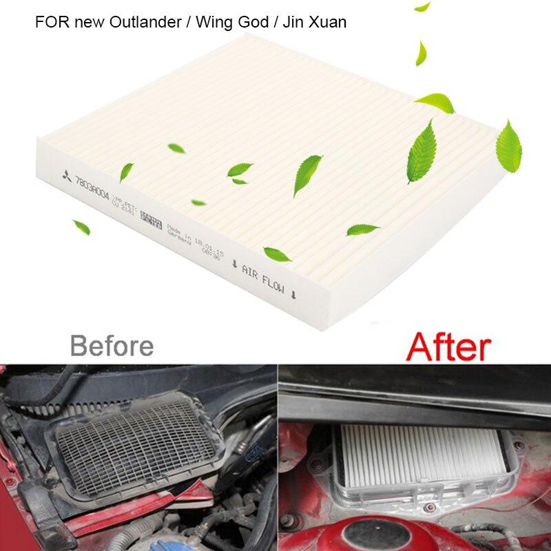 Автомобильный воздушный фильтр Авто воздушный фильтр высокого качества сменный воздушный фильтр кондиционер 7803A004 7803A005 для NISSAN Outlander