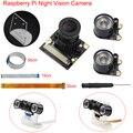 Raspberry Pi 3 Modelo B, modelo B + B Plus cámara de visión nocturna de la Cámara + IR luz + soporte + FFC para frambuesa Pi Zero W/1,3
