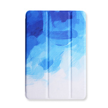 "7.9"" Tablet Case for ipad mini 1 2 3 mini 4 Good PU Leather Sleeve Painting Matte Folio Stand PC Tablet Cover Case Auto Sleep(China)"