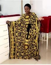 Spring Summer African Dress For Women Fashion Digital Printing O-neck Long