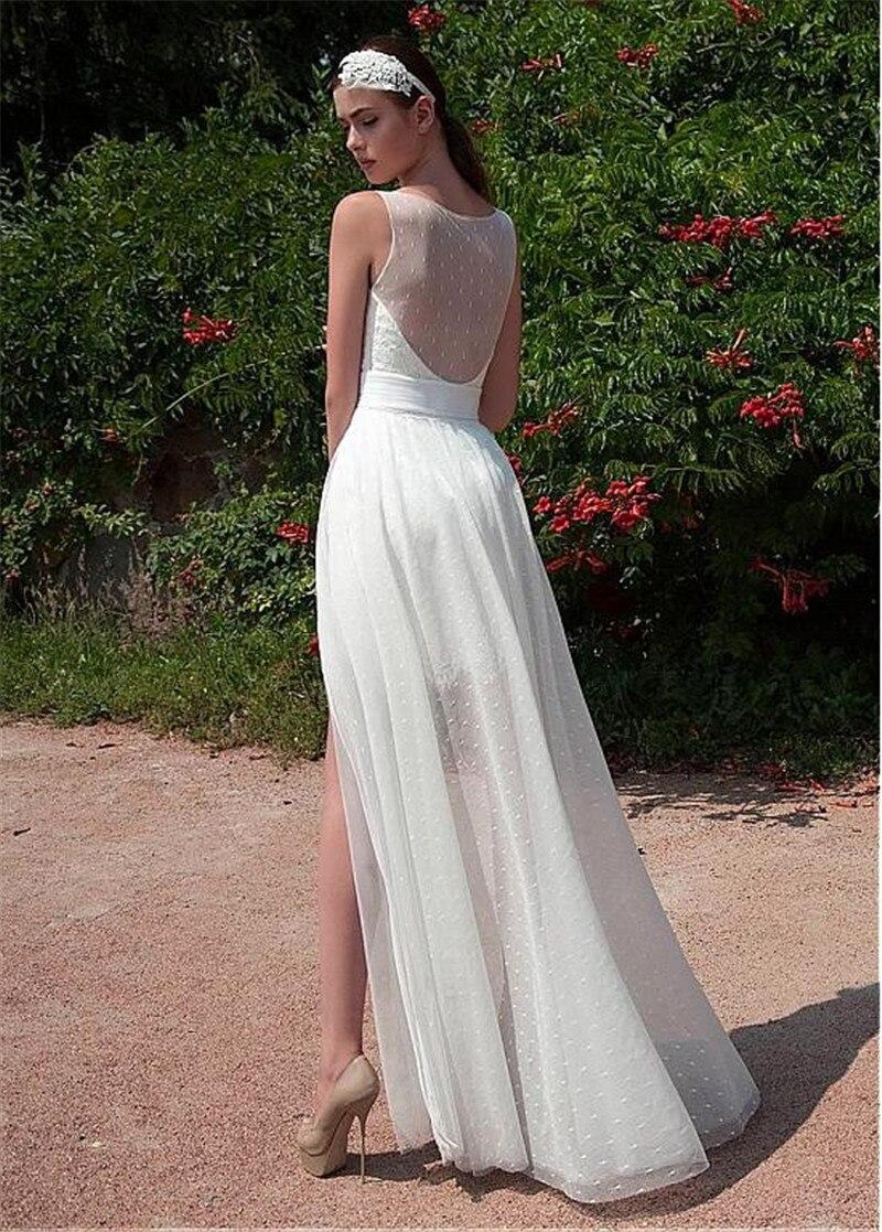 Ungewöhnlich Brautkleider Für Die Zweite Hochzeit Am Strand Ideen ...