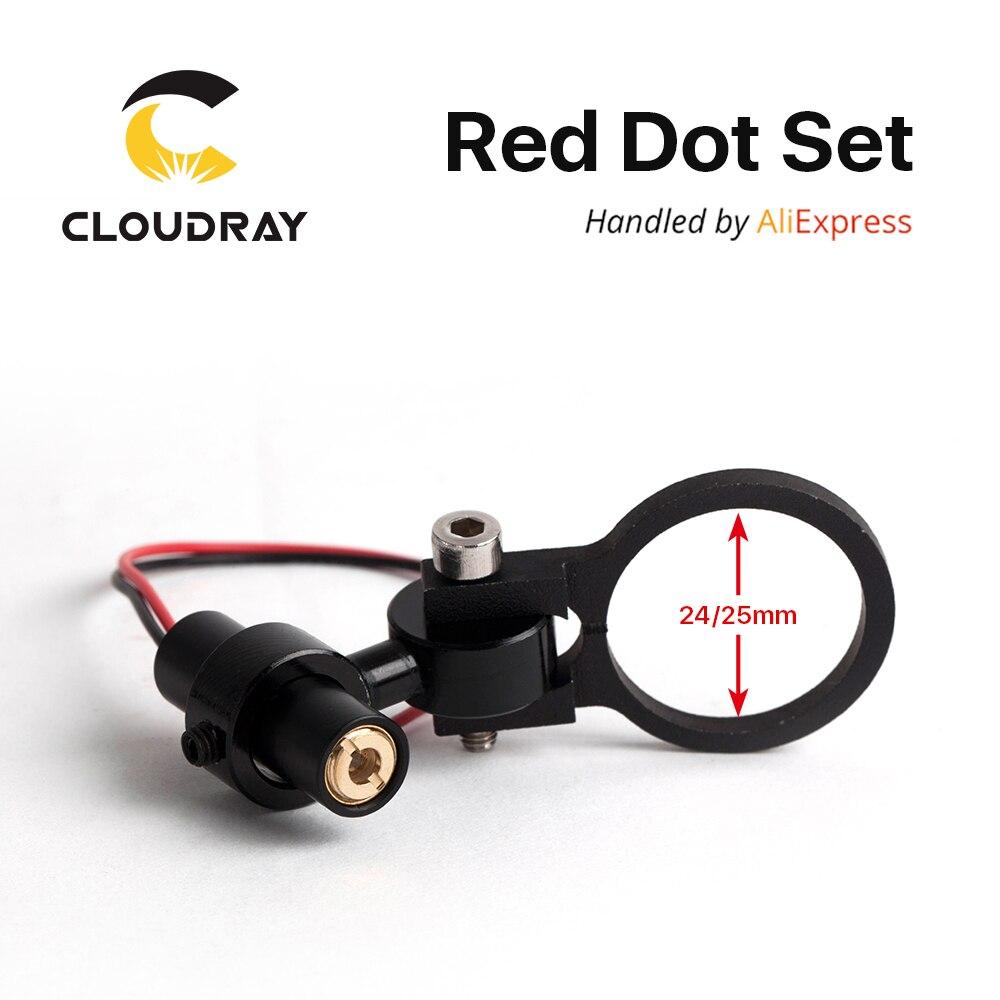 Diode Modul Red Dot Set Positionierung DC 5 v für DIY Co2 Laser Gravur Schneiden Kopf