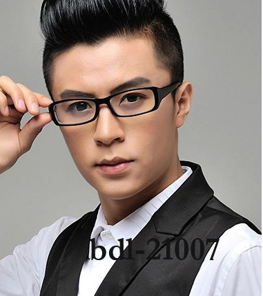 5ae5c00476 Myopia frame black frame neutral men and women computer radiation-proof  flat mirror mirror finished thick eyeglasses frame
