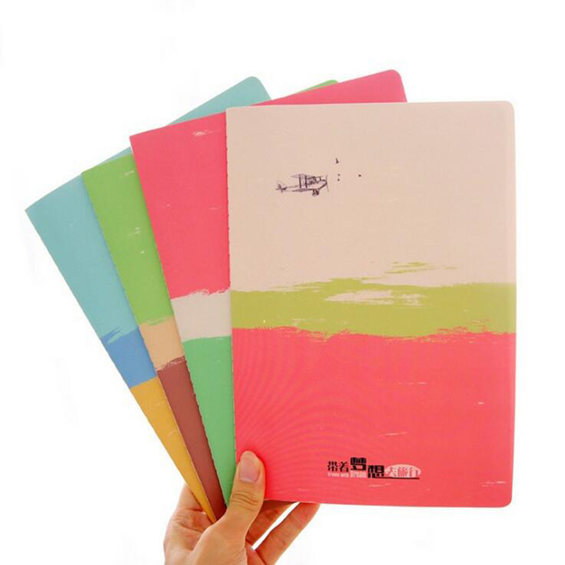4 pcs/Lot Dotted Notebook Cute Diary Book Festival Gift Stationery Office School Supplies Post Air Mail Free Shipping rights of the game notebook gift diary note book agenda planner material escolar caderno office stationery supplies gt105