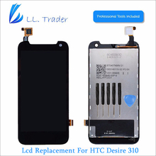 LL TRADER Highscreen Top Brand New LCD Replacement For HTC Desire 310 LCD Display Screen +Touch Screen Digitizer Assembly+Tools
