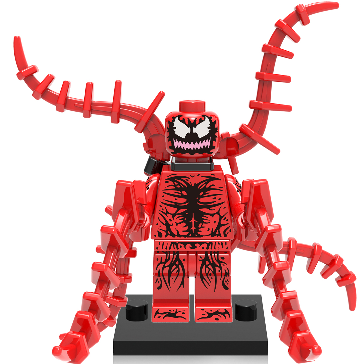 50pcs Carnage Wholesale Spider Man Figure Building Bricks Blocks