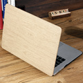 NEW Wood Grain PU Leather Cover for macbook Air 13 case Pro Retina 13 laptop bag Shell For Mac book 13.3 inch