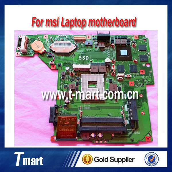 laptop motherboard for msi GE60 Series MS-16GA1 system mainboard fully tested кофемашина bosch tas4504 1300 вт белый