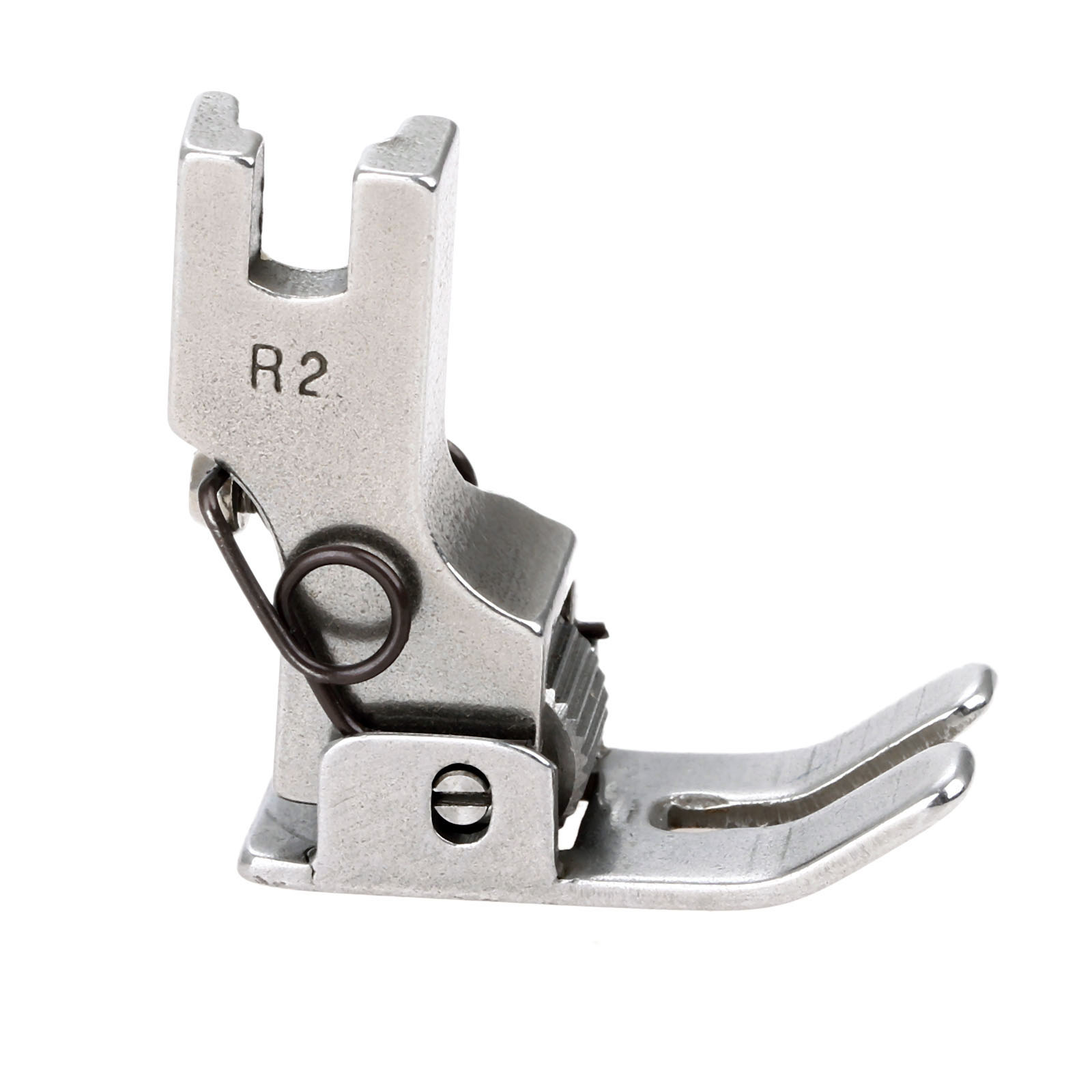 1Pc Industrial Sewing Machine Parts Steel Flatcar Roller Presser Foot R2 Flat Platen Roller Wheels For Industrial Sewing Machine