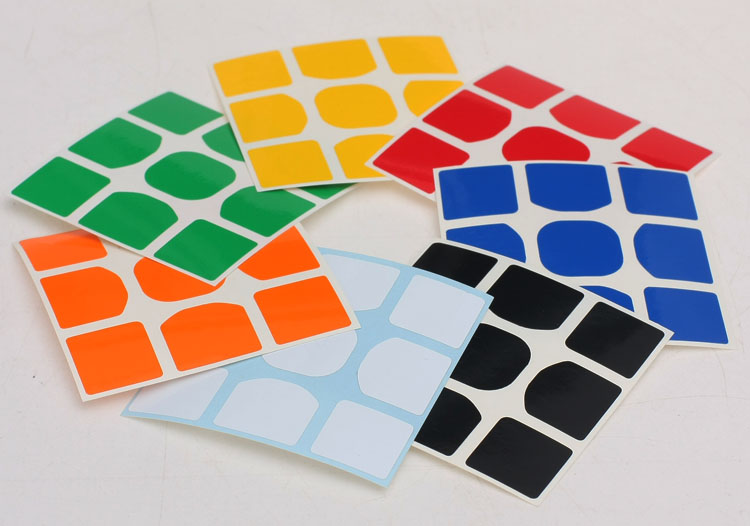 Z sticker PVC can used On MoYu Weilong GTS V2,GTS2,GTS2M, Magnetic,GTS3,GTS V3 M, GTS3M LM 3x3x3 Magic Cube Educational Kid Toys