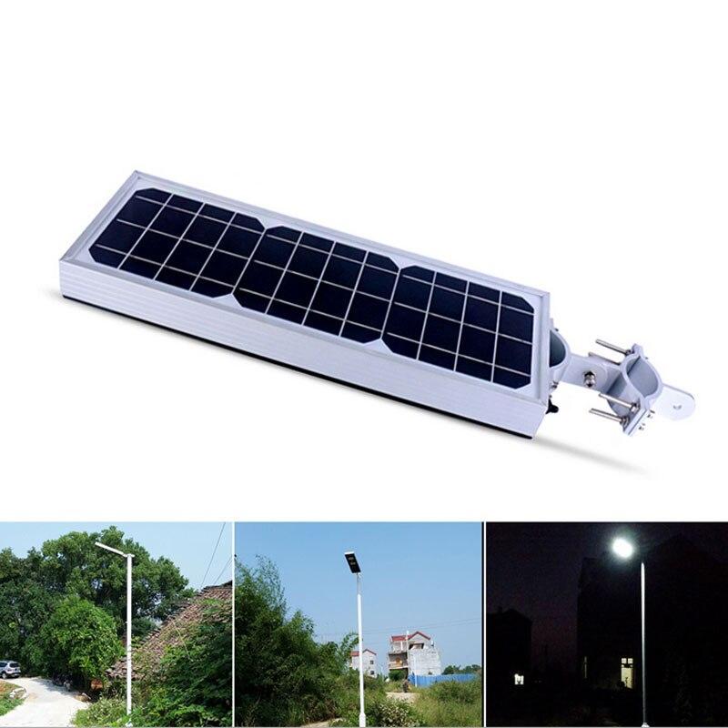 Solar Street Light Wall Flood Light PIR Motion Sensor Dimmable LED ...