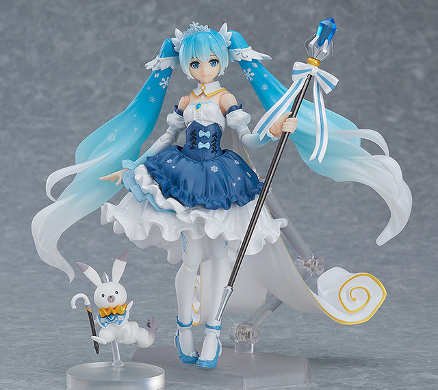 Snow Miku 10th Anniversary Figma EX-054 PVC Action Figure Toy Snow Princess Ver Hatsune Miku Movable Toy Doll