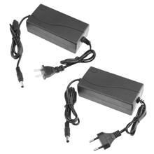 Adaptador de corriente para proyector, cargador de fuente de alimentación de 100V 240V AC a DC 14V 5A, convertidor de adaptador de 5,5*2,5/2,1mm, enchufe europeo y estadounidense
