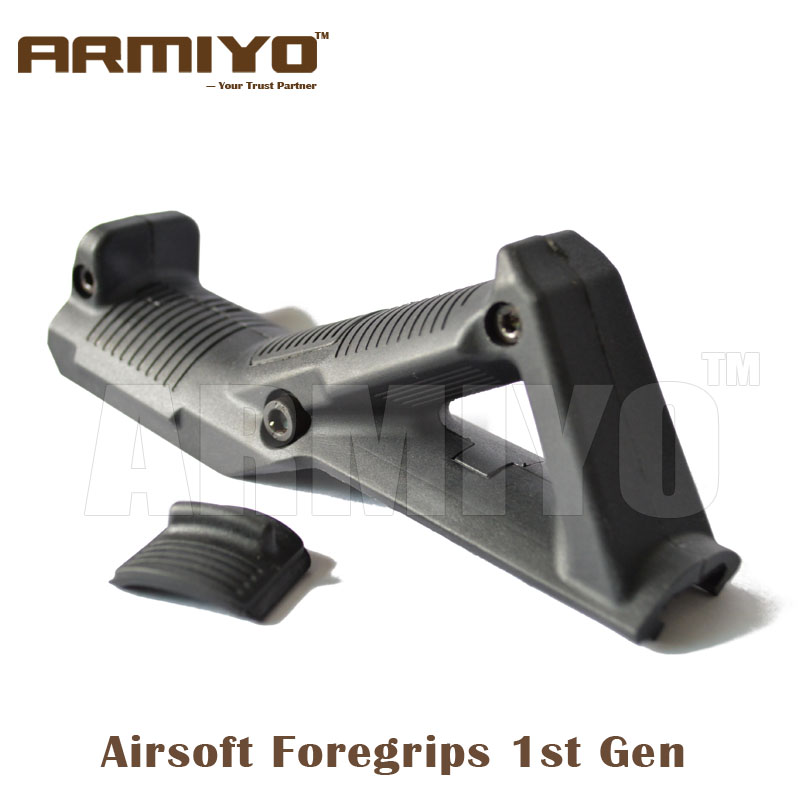 Armiyo 1st Gen Tactical Airsoft Angled Fore Handguard Rack Grip 20mm Rail Rifle Grip M4 Hunting Shooting Paintball Accessories рубашка fore axel