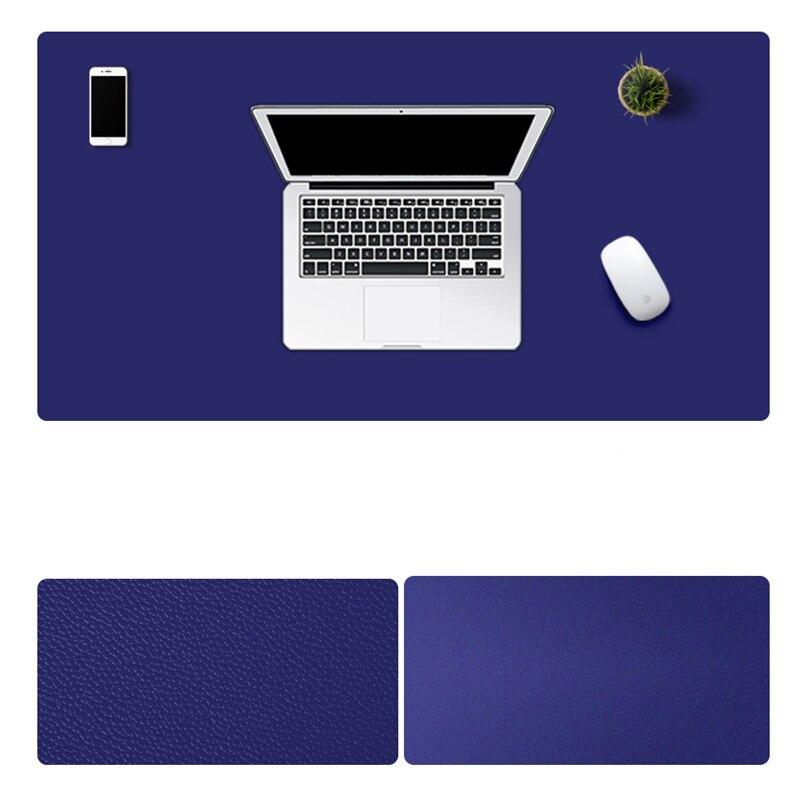 1200*600mm grand tapis de souris de jeu imperméable anti-dérapant en cuir PU ordinateur tapis de souris bureau bureau souris d'ordinateur portable tapis souris Gamer - 3