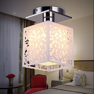 ФОТО 1 Light Modern Acrylic LED Ceiling Lamp,E27*1 Bulb Included,For Living room bedroom Home Lightings,AC 110V~220V