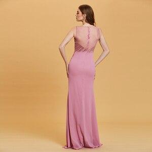 Image 2 - Dressv Dài Dạ Hội Tay Giá Rẻ V Cổ Tiệc Cưới Chính Thức Đầm Một Dòng Đầm Maxi Người Phụ Nữ Thanh Lịch Váy Ngủ Áo Choàng