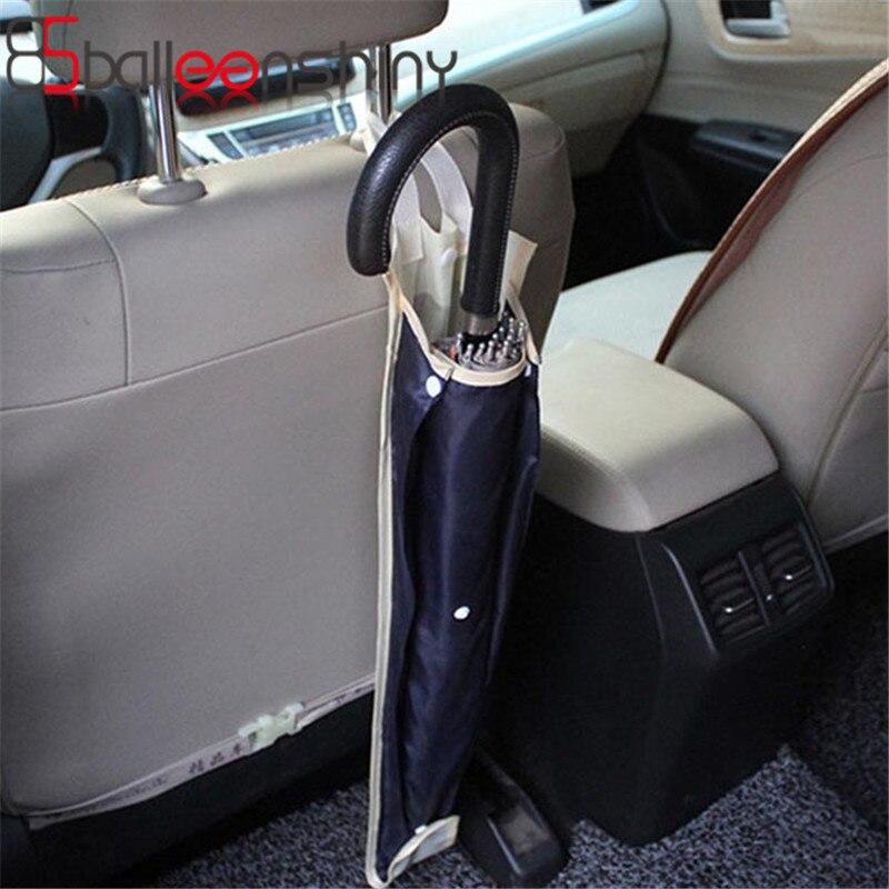 1Pcs összecsukható autószék hátsó kocsi táska több esernyő fedél lógó zsákok szervező tulajdonosa autós kiegészítők