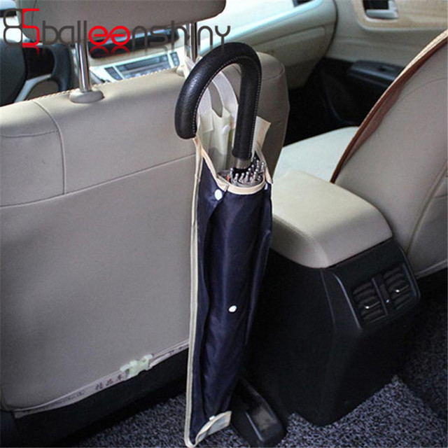 1Pcs Foldable Car Seat Back Carriage Bag Multi Umbrella Cover Hanging Bags Organizer Holder Stowing Tidying Car Accessories