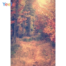 Yeele Photography Backdrops Autumn Forest Trees Weed Scenery Professional Camera Photographic Backgrounds For The Photo Studio