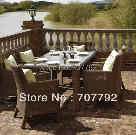 buy 6 seater rattan garden furniture and get free shipping on aliexpresscom - Rattan Garden Furniture 6 Seater