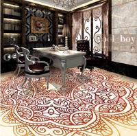 3d Flooring Wallpaper HD European Simple Pattern 3d Floor Self Adhesive Wallpaper Waterproof PVC Wallpaper 3d