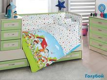 Комплект постельного белья для новорожденных ALTINBASAK, HAPPY KIDS, разноцветный