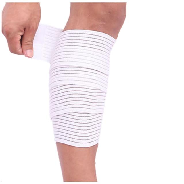 bandage lastique bande sport genou sangle de support genouill res kin siologie protecteur bande. Black Bedroom Furniture Sets. Home Design Ideas