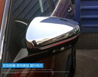 Car Stying Fit For Peugeot 301 308 408 508 2008 3008 308S Door Side Wing Mirror Chrome Cover Rear View Cap Accessories