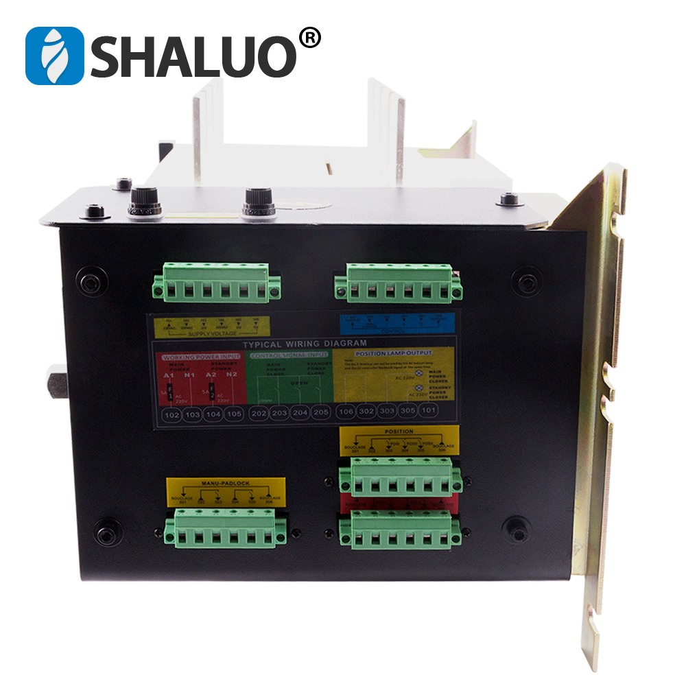 Ats 630a 4p Controller Automatic Transfer Switch  manual three phase smartgen dual power ats panel for generator set