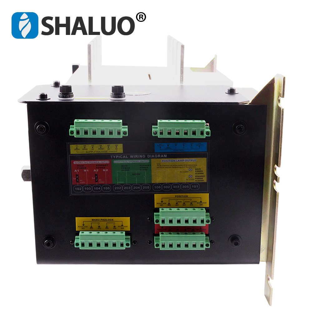 medium resolution of  ats 630a 4p controller automatic transfer switch manual three phase smartgen dual power ats panel for
