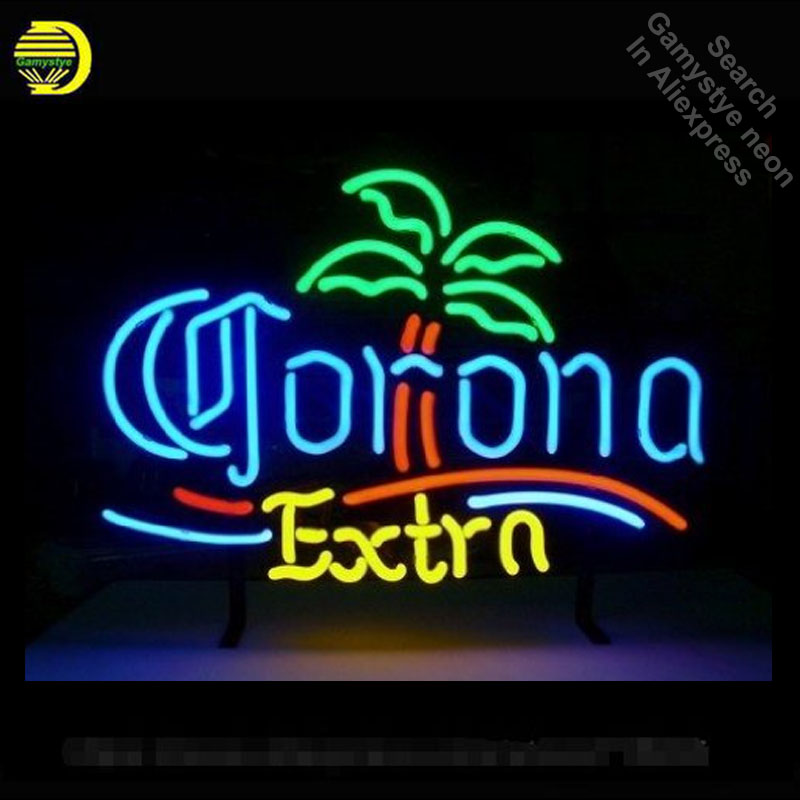 Neon Sign for Corona Extra Palm Tree Neon Tube Sign Commercial Light handcraft Publicidad Lamps Store Displays neon light signNeon Sign for Corona Extra Palm Tree Neon Tube Sign Commercial Light handcraft Publicidad Lamps Store Displays neon light sign