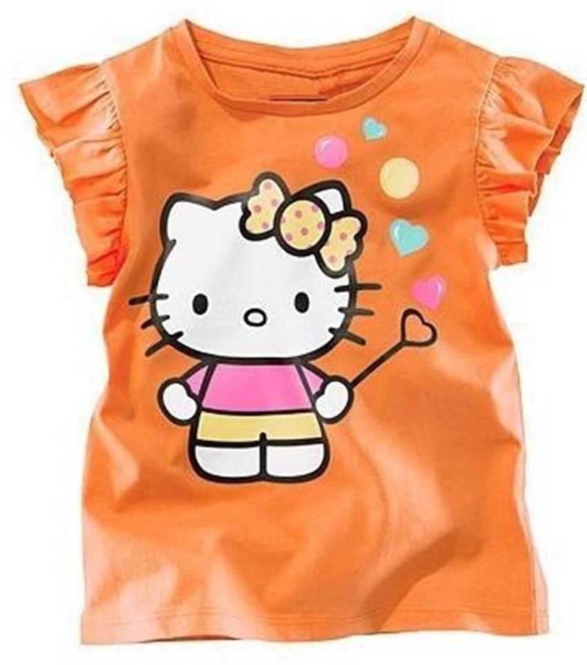 50f17671e Seartist Baby Girls Hello Kitty Tshirt Girl Cartoon T shirt Baby ...