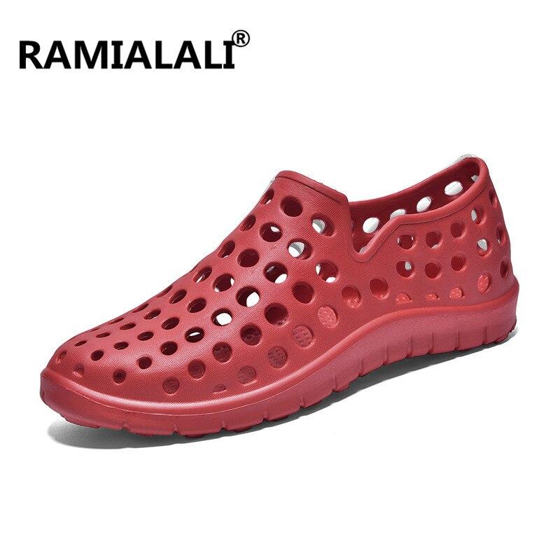 2edfbbd3d983 Ramialali Women Sandals Garden Clog Shoes for Women Quick Drying Summer  Beach Slipper Breathable Outdoor Sandals