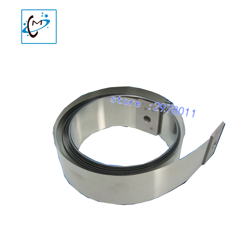 Eco Solvent printer parts Mutoh Steel belt for Mutoh VJ 1624 1638 solvent printer flat steel belt 1pc for sale 2017 hot sale a4 digital eco solvent printer print on vinyl pvc card