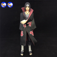 A toy A dream SHF S.H.Figuarts Anime Naruto Shippuden Uchiha Itachi PVC Action Figure Collection Model Kids Toys Doll 16cm