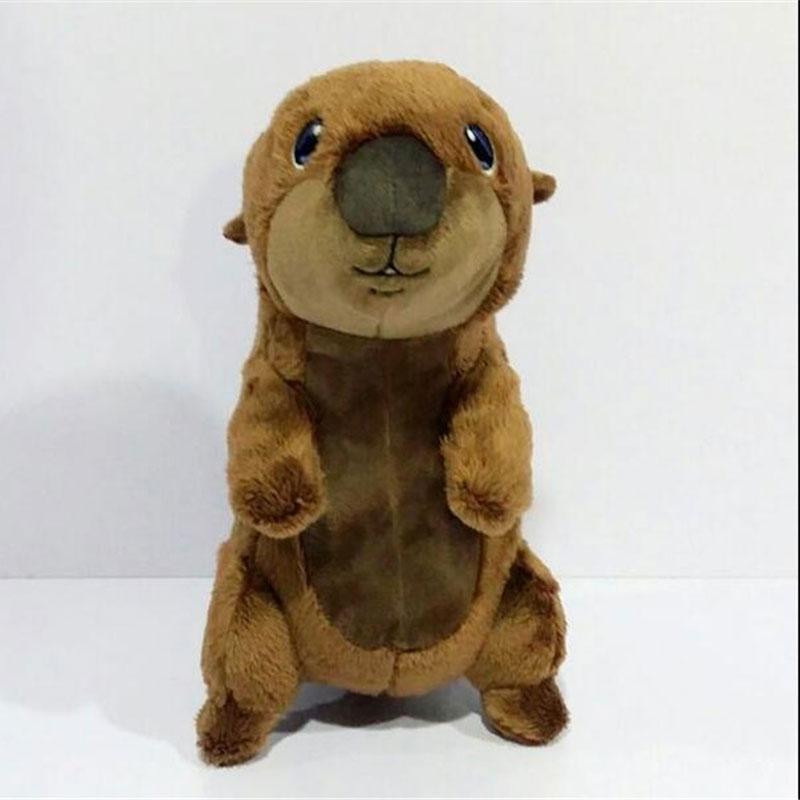 27cm Beaver Plush Toys Animal Soft Dolls For Baby Gift