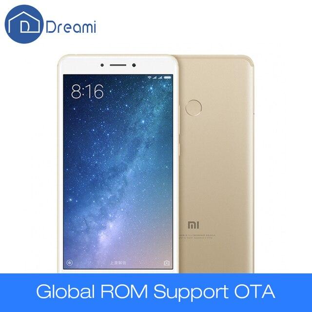 Drea Mi оригинальный Xiaomi Max 2 Snapdragon 625 металлический корпус 4 ГБ 64 ГБ 6.44-дюймовый большой тесто 5300 мАч 2.0 ГГц 12 м Mi Max2 мобильного телефона
