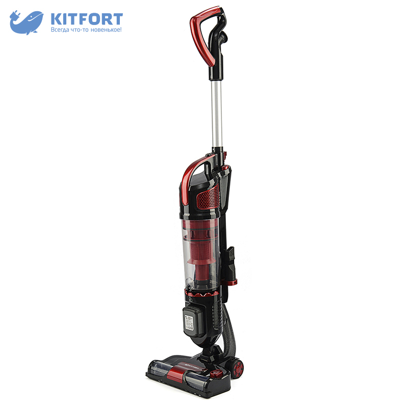 Vertical vacuum cleaner Kitfort KT-521 wireless vacuum cleaner kitfort kt 515 home portable powerful handheld dust collector stick wireless vertical dry cleaning cyclone