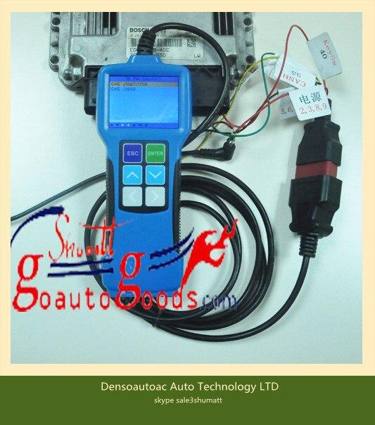 T71 Sel Engine Obd Diagnostic Tool For Mins Isuzu Iveco Vol Vo Truck