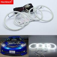 for Acura TSX 2009 2010 2011 2012 Ultra bright SMD white LED angel eyes 2600LM 12V halo ring kit daytime running light