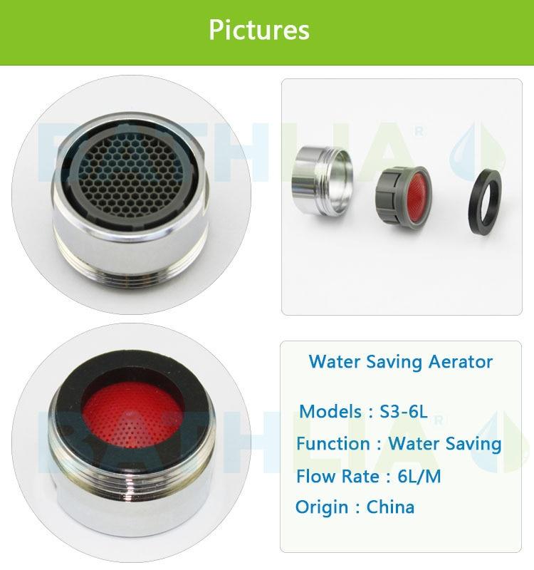 Bathroom Faucet Aerator Adapter Tap Nozzle Aerator Filter Bubble ...
