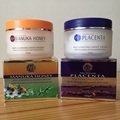 100% NewZealand Manuka Honey Увлажняющий Дневной Крем + Овец Плаценты Ночной Крем Для Лица Наборы Омоложение Крем Легко впитывается крем