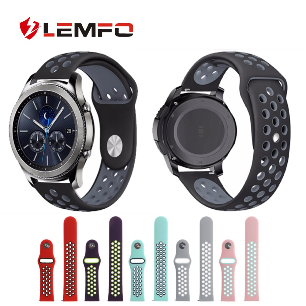 LEMFO Double-Color-Band Huawei Watch Silicone Watch-Strap Fitness Bracelet for Gt Replacement