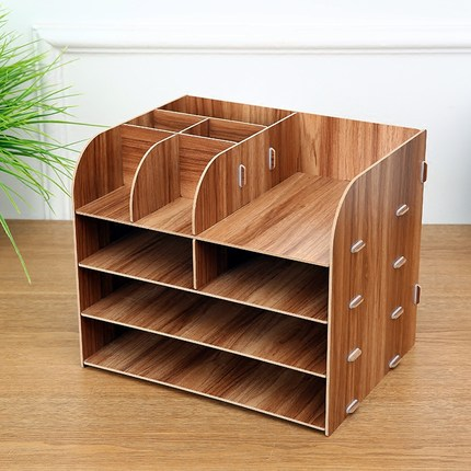 diy office desk. DIY Office Organizer Wooden Desk Sets File Multifunctional Accessories Document Storage Box-in Set From Diy D