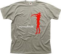 2017 Plus Size Depeche Mode Electronic Music Album Printed T Shirt Men T Shirt Casual Tops