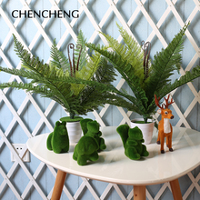 Red Green Subtropical Artificial Tree Leaves Plants Artificial Plants High  Simulation For Home Decoration Indoor Plants